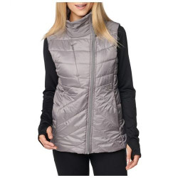 5.11 Tactical PENINSULA INSULATOR PACKABLE VEST, 100% Polyester Mini Rip-stop Body with Plain Weave Overlays, DWR, Concealed right chest pocket, Packs into removable stuff sack, 65002