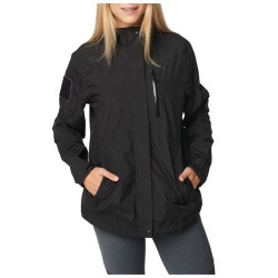 5.11 Tactical WOMENS AURORA SHELL JACKET, Waterproof and Breathable, Internal media ports for cord management, Hand zip pockets with internal RAPIDraw™ pass through access, 38077