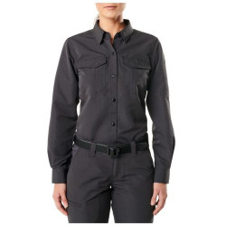 5.11 Tactical WOMEN'S FAST-TAC™ LONG SLEEVE SHIRT, Water-resistant finish, 100% polyester Fast-Tac™ Ripstop, 62388