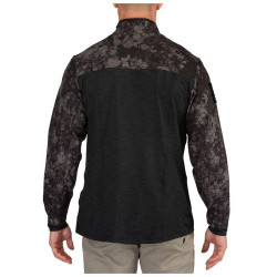 5.11 Tactical Geo7 Rapid Half Zip Pullover Jacket, available in Night or Terrain patterns 72415G7