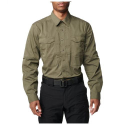 5.11 Tactical Hunter Plaid Button-Down Shirt, available in Flint, Coyote, Engine Red, or Baltic Blue 71374