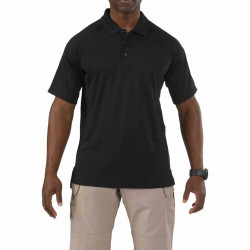 5.11 Tactical Men's Performance Polo Shirt, Dual Pen Pocket on Left Sleeve, Embroidery Ready, available in White, Charcoal, Black, Silver Tan, TDU Green, Range Red, Dark Navy, or LE Green 71049