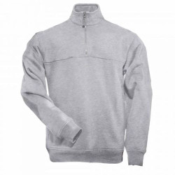 5.11 Tactical 1/4 ZIP JOB SHIRT, 80% cotton 20% poly, Chest Break-Through™ pocket with hook and loop fastener divider, Mic pockets at both shoulders, Regular Fit, 72314