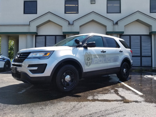 Ford Police Interceptor Utility Suv Explorer Ghost Graphic Decals Any Color