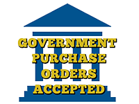 We Accept Government Purchase Orders!