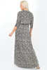 Evianna Paisley Glitter Maxi Dress