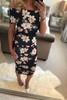 Tisha Off Shoulder Bodycon Dress