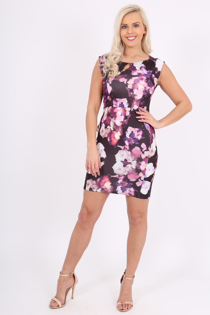 Millen Floral Bodycon Dress