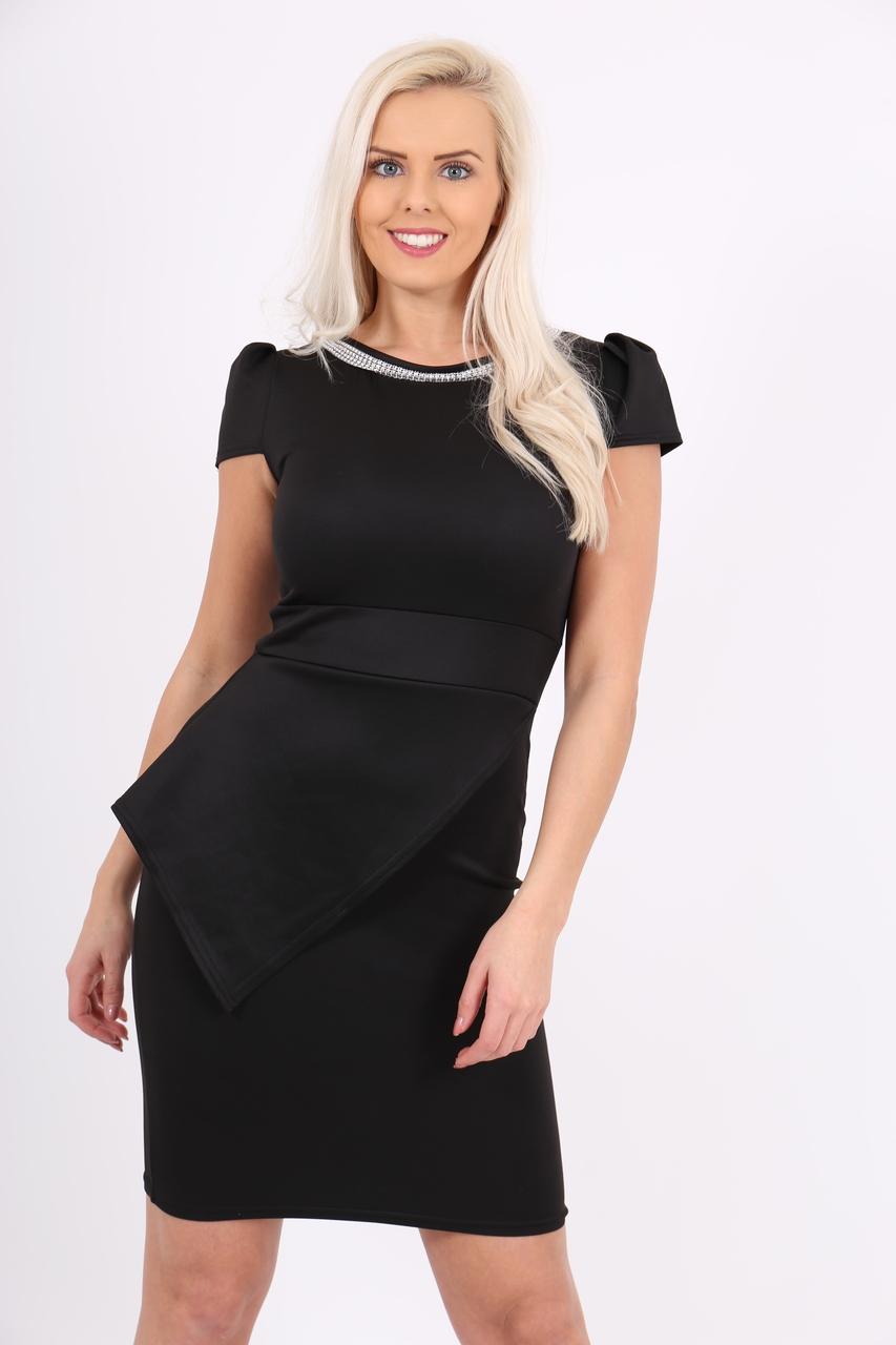 Lux Black Diamond Stella Dress