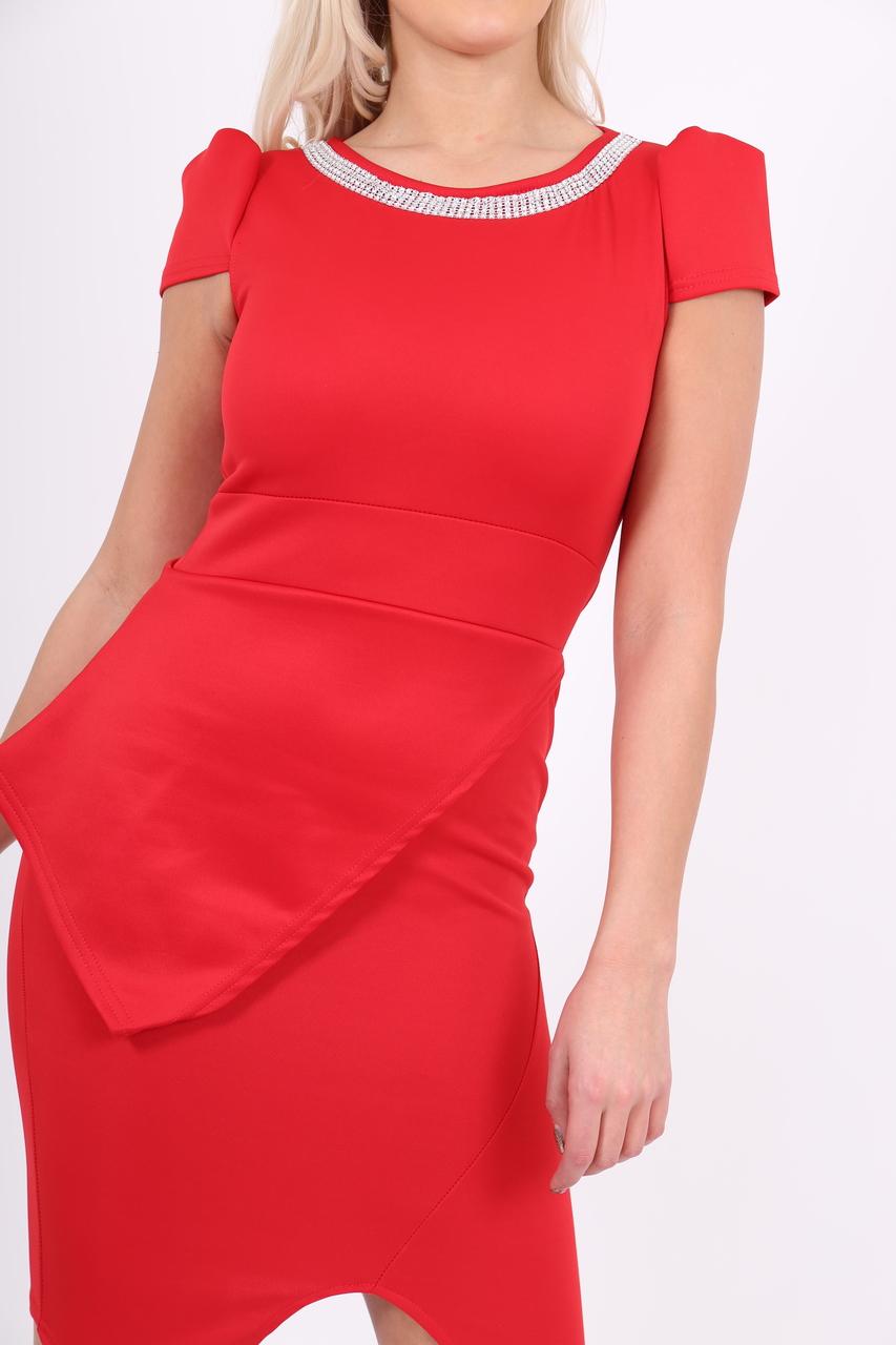 Lux Red Diamond Stella Dress