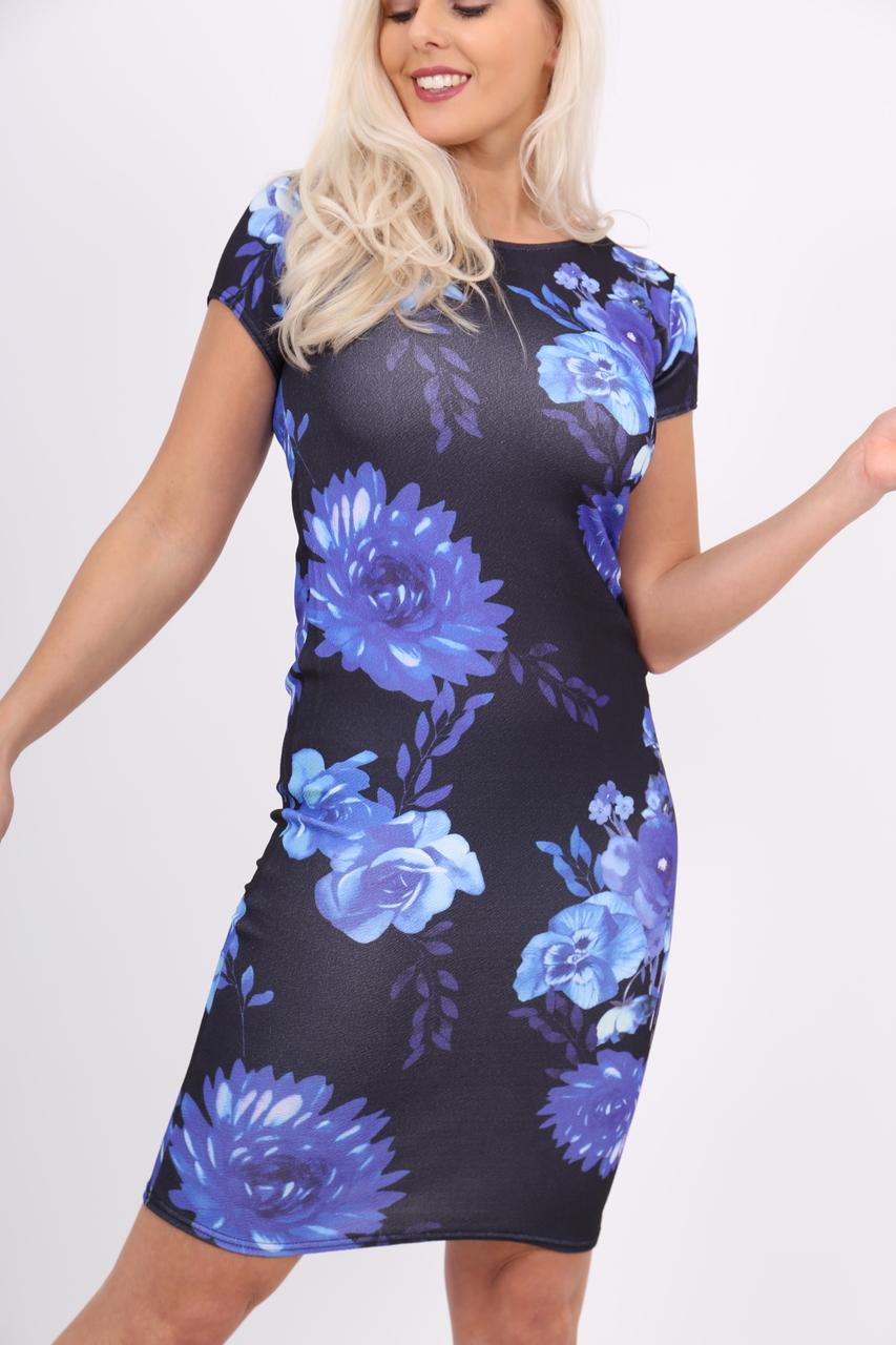 Blue Lolita Midi Dress