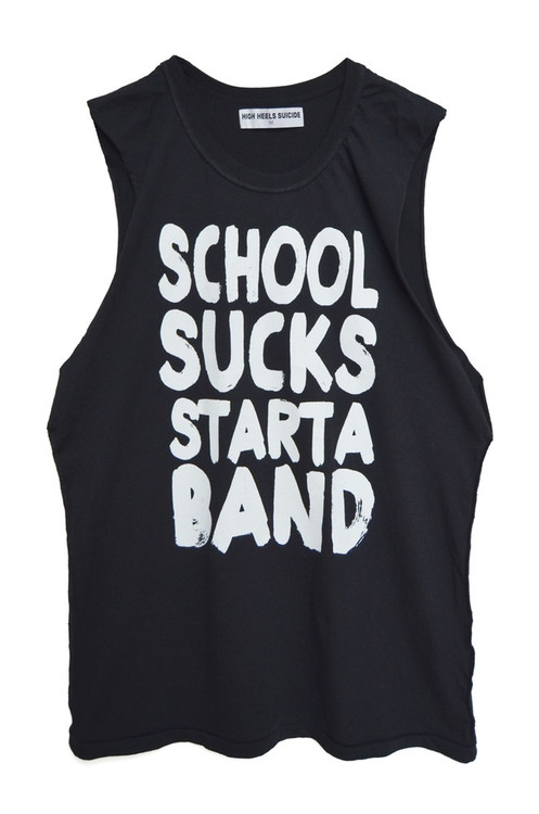 SCHOOL SUCKS MUSCLE TANK