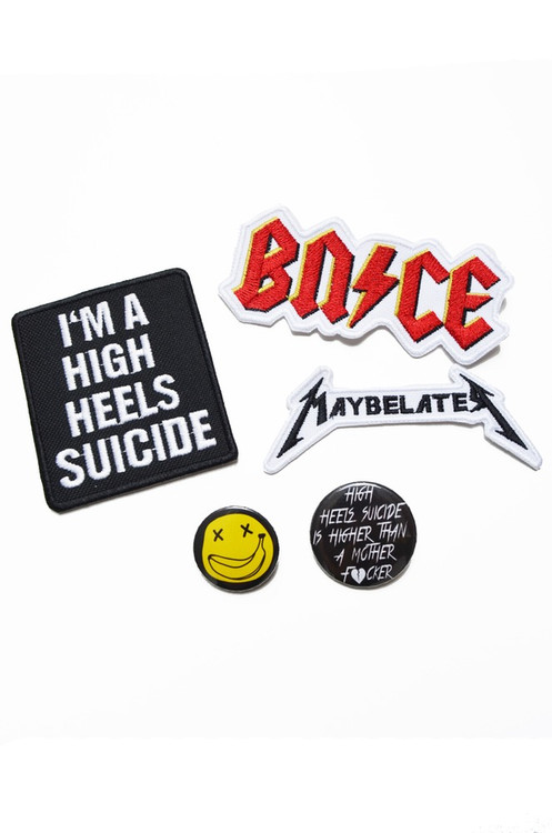 PINS & PATCHES PACK
