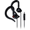 Yurbuds Sports Earphones - Focus 300 In-Ear Earphones with In-Line in Black