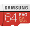 Samsung 64GB EVO Plus Class 10 UHS-I microSDXC U3 with Adapter