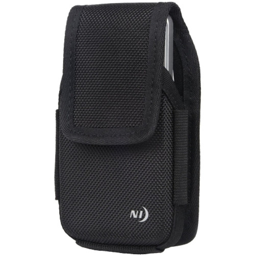 Nite Ize - Clip Case Hardshell Holster for XL Devices Black