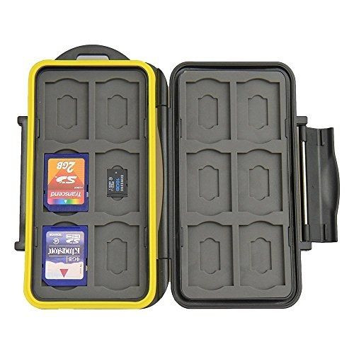 Beeway Tough Water Shock Resistant Protector Memory Card Carrying Case Holder