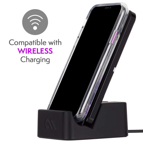 Case-Mate - iPhone XR Case - WATERFALL - iPhone 6.1 Purple Glow