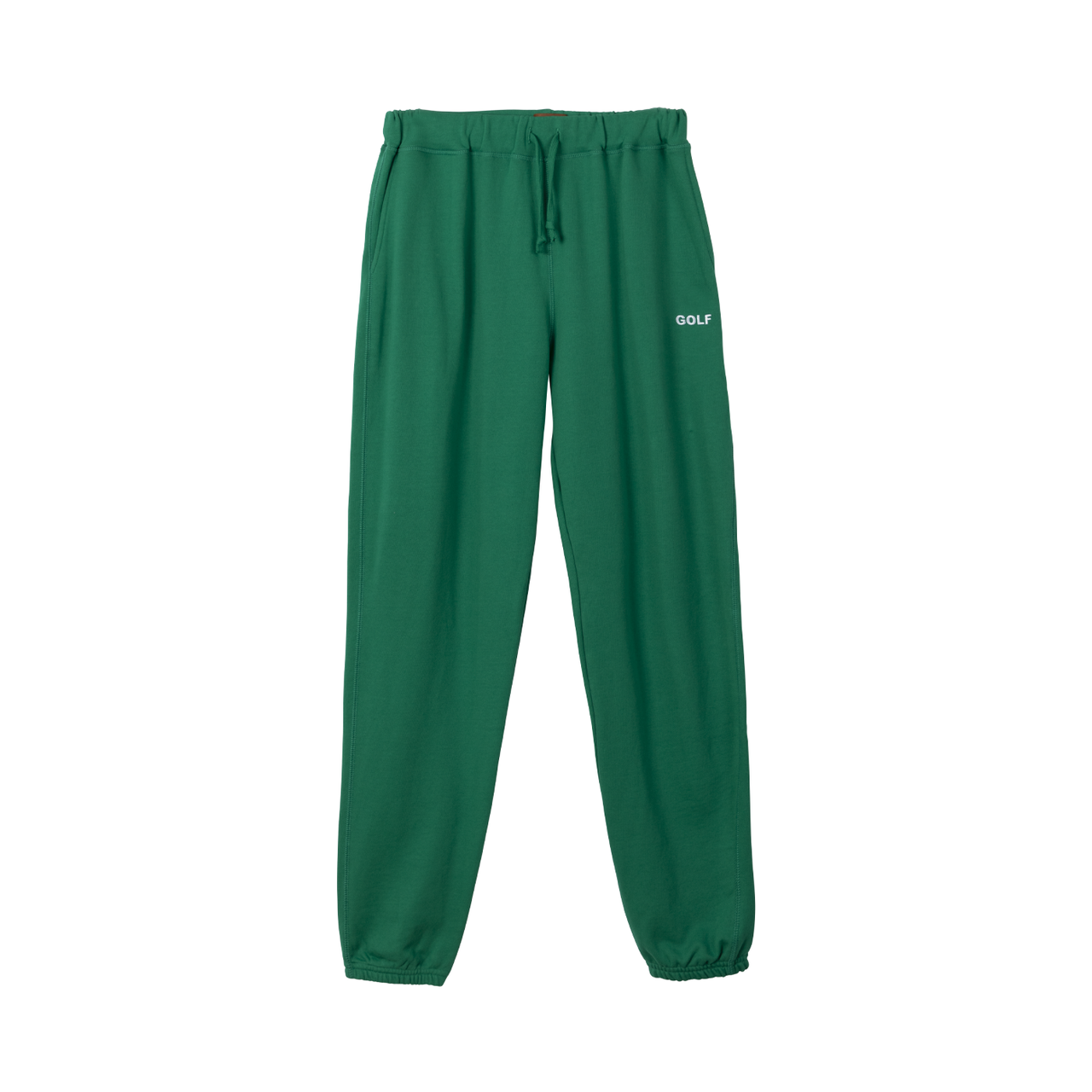 GOLF LOGO EMBROIDERED SWEATPANTS - GREEN by GOLF WANG