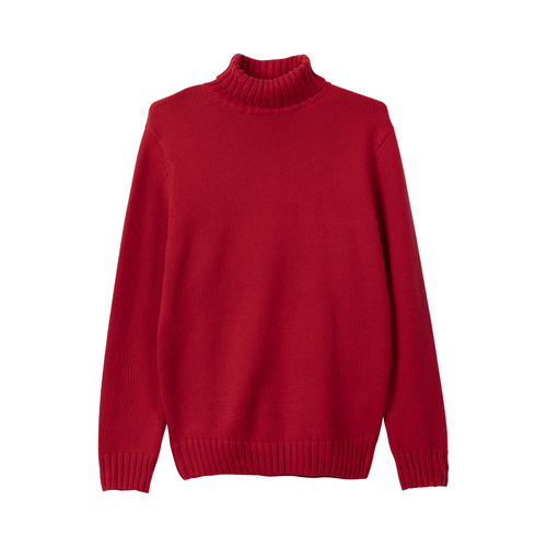 908bfda0b82d TURTLE NECK SWEATER - CARDINAL by GOLF WANG