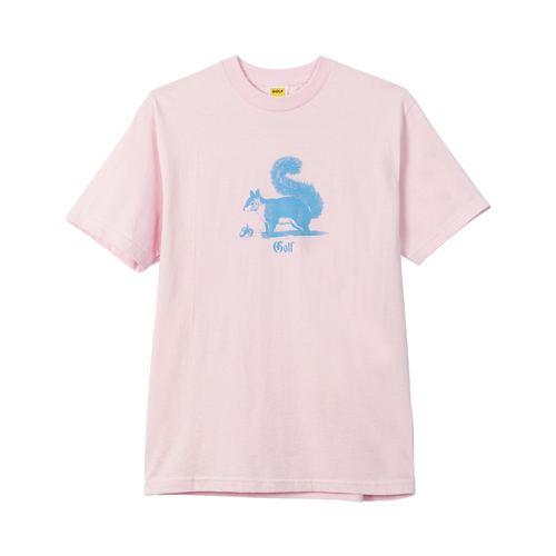 c6000755e73f SQUIRREL TEE - LIGHT PINK by GOLF WANG