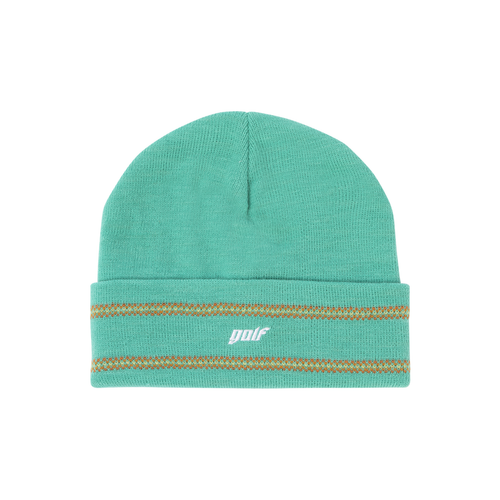 8de06c4c3d1199 NEU GOLF PIXEL STRIPED BEANIE - AQUA by GOLF WANG