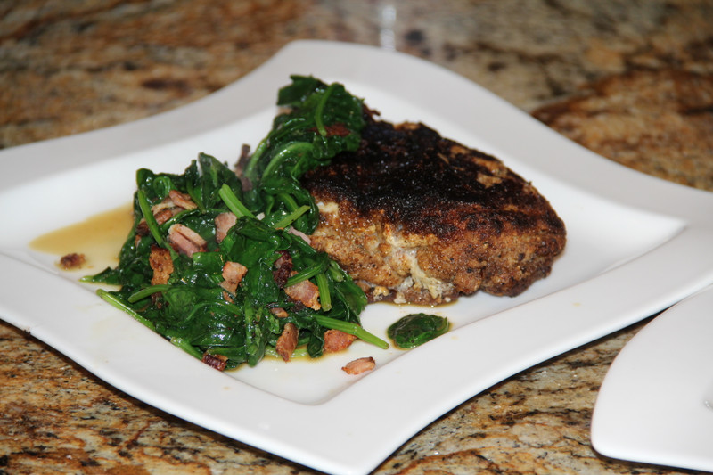 Slavo's Almond Crusted Chicken