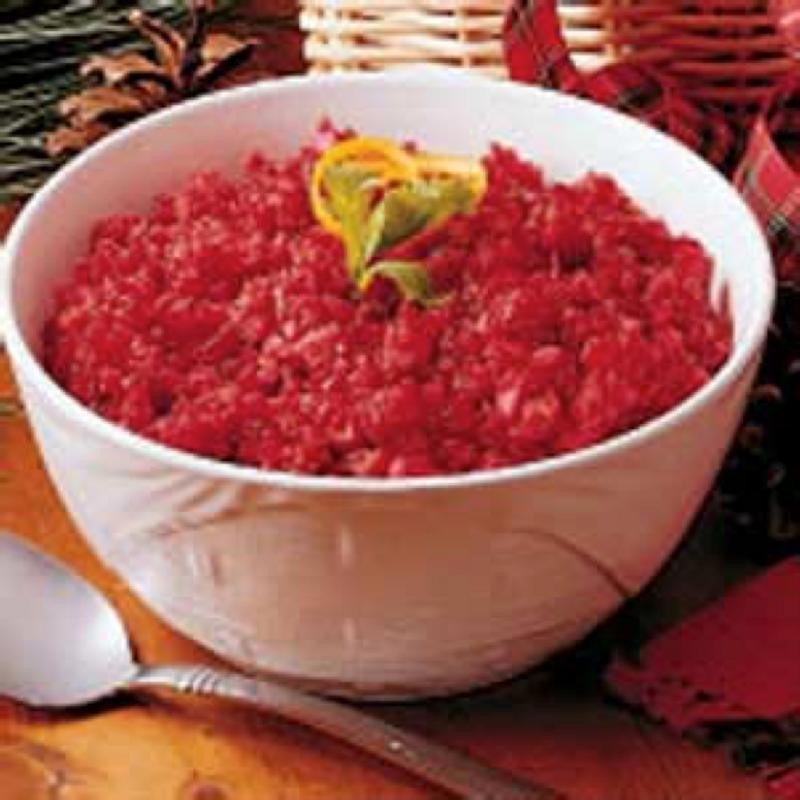 Mama Stamberg's Cranberry Relish Recipe