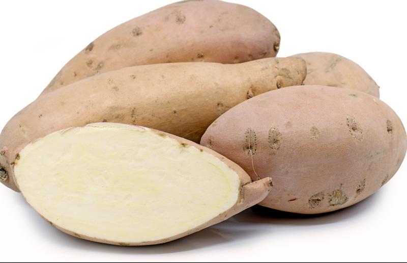 Slavo's Garlic Sweet Potatoes