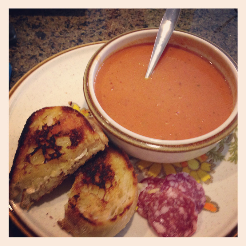 Slavo's Soup and (Grilled Cheese) Sando