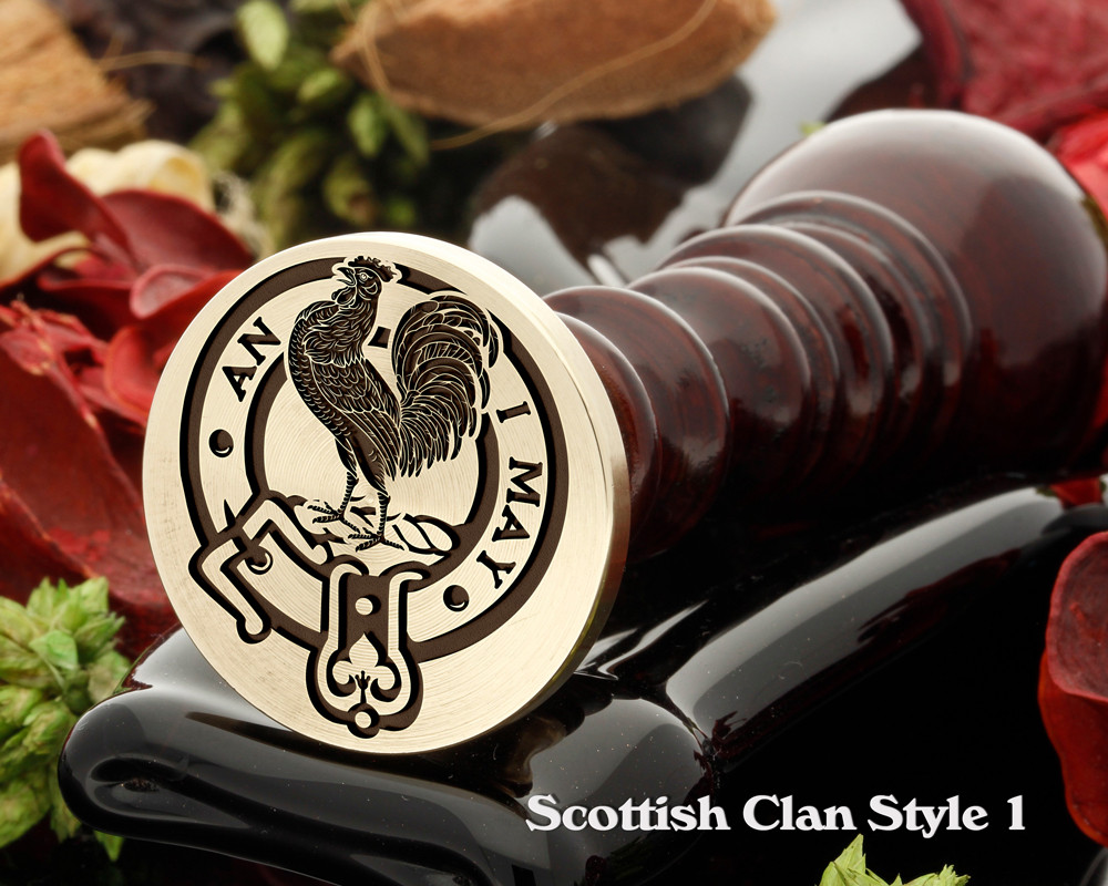 Lyle Scottish Clan Wax Seal D1