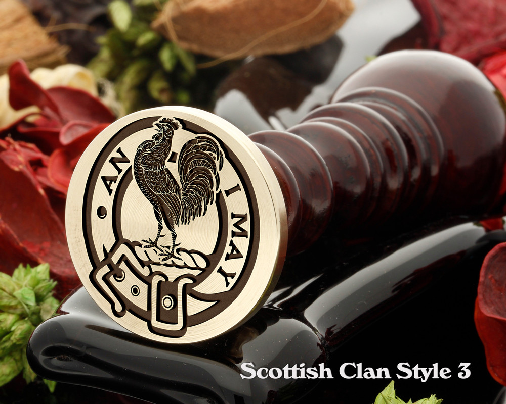 Lyle Scottish Clan Wax Seal D3
