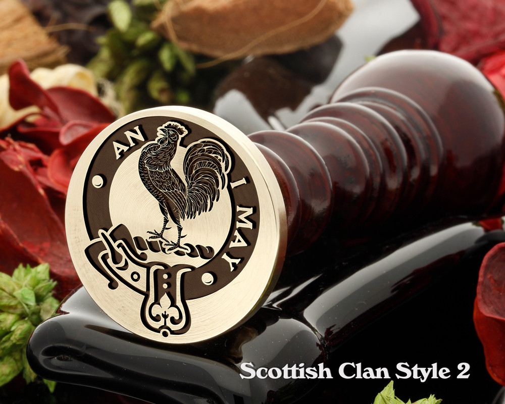 Lyle Scottish Clan Wax Seal D2