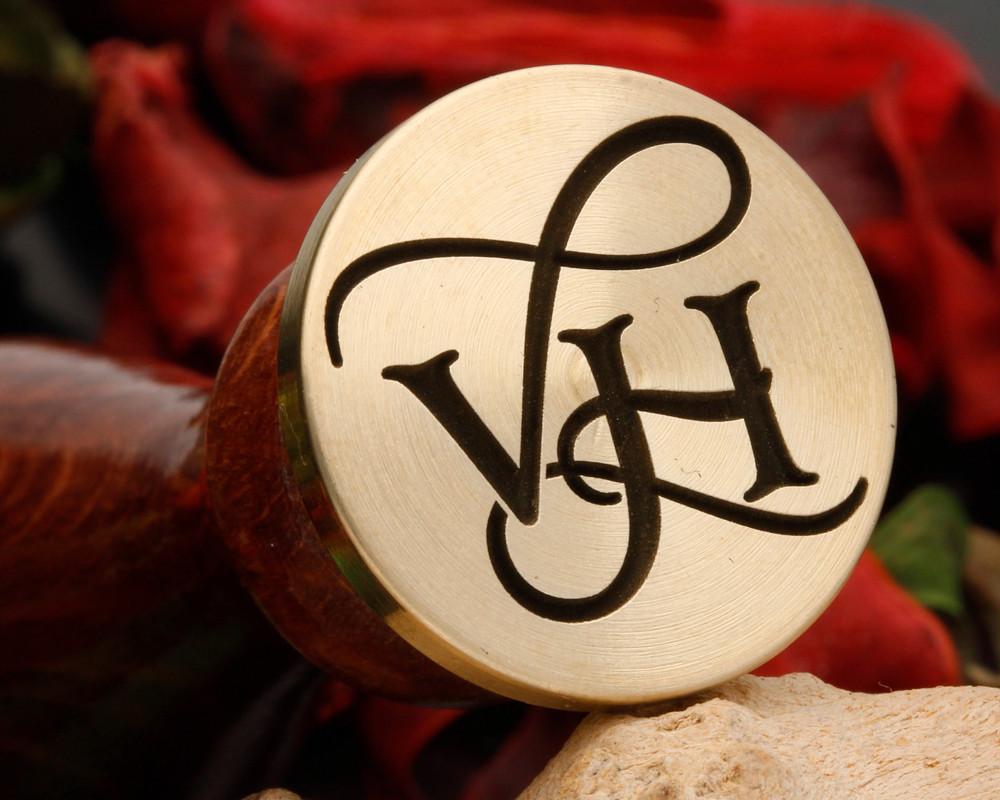 VH Wax Seal Monogram (photo reversed)