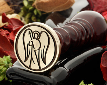 Personal or Company Wax Seal Stamp - Scale A