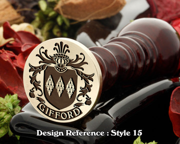 Gifford Family Crest Wax Seal D15