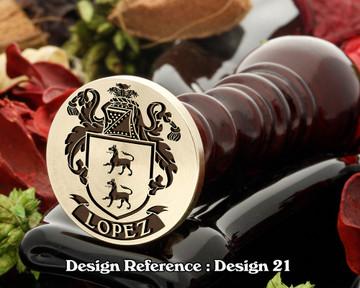 Lopez Family Crest D21
