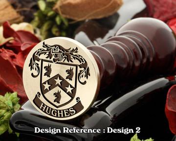 Hughes (Ireland) Family Crest D2