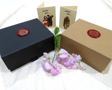 Rose n Daffodil Wax Seal