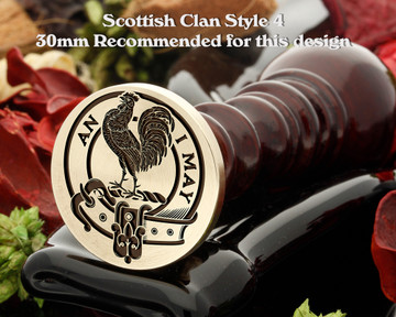 Lyle Scottish Clan Wax Seal D4