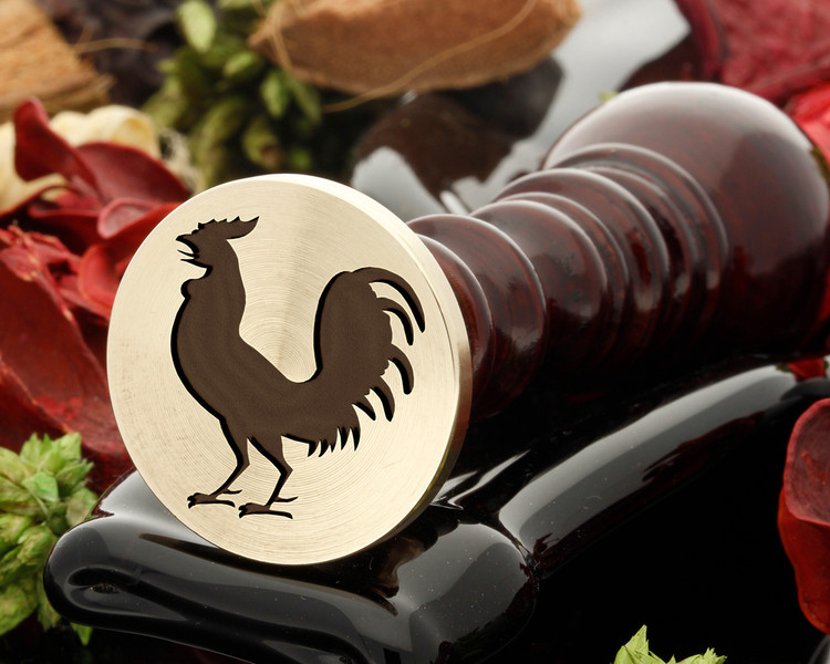 Rooster 1B wax seal