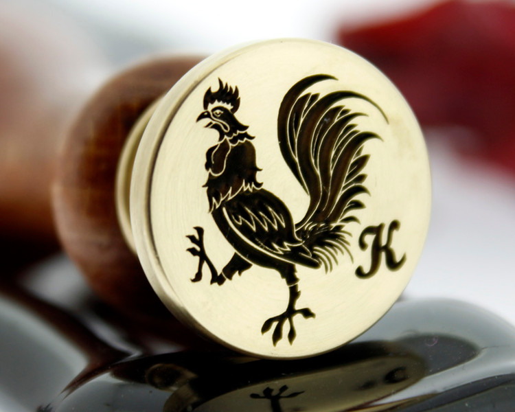 Rooster 2A - if adding edge text we recommend 25-30mm.  Photograph reversed