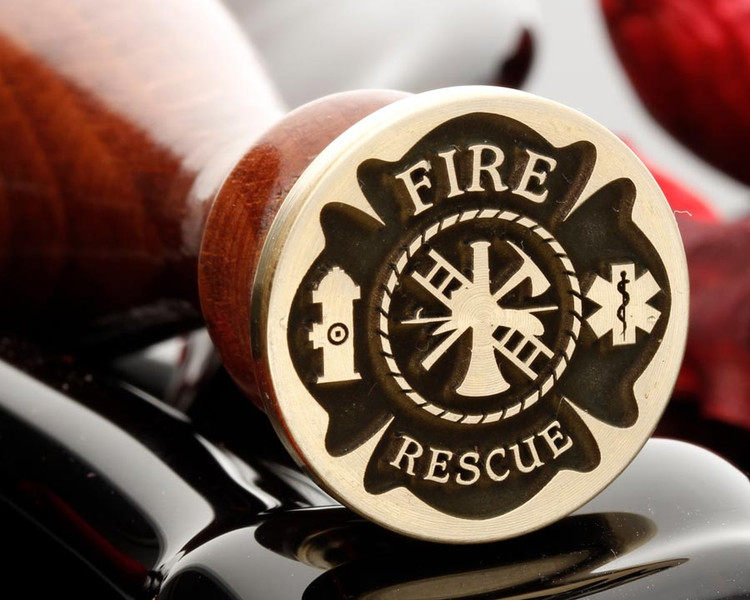 Fire Rescue Service Wax Seal Stamp