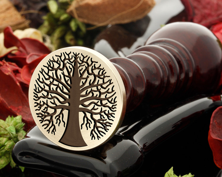 Tree 13 wax seal