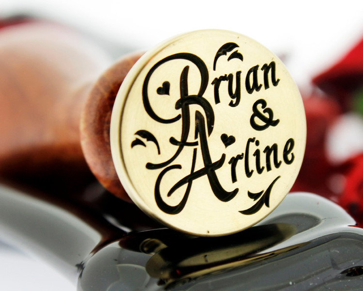 Example Bryan & Arline, photo reversed