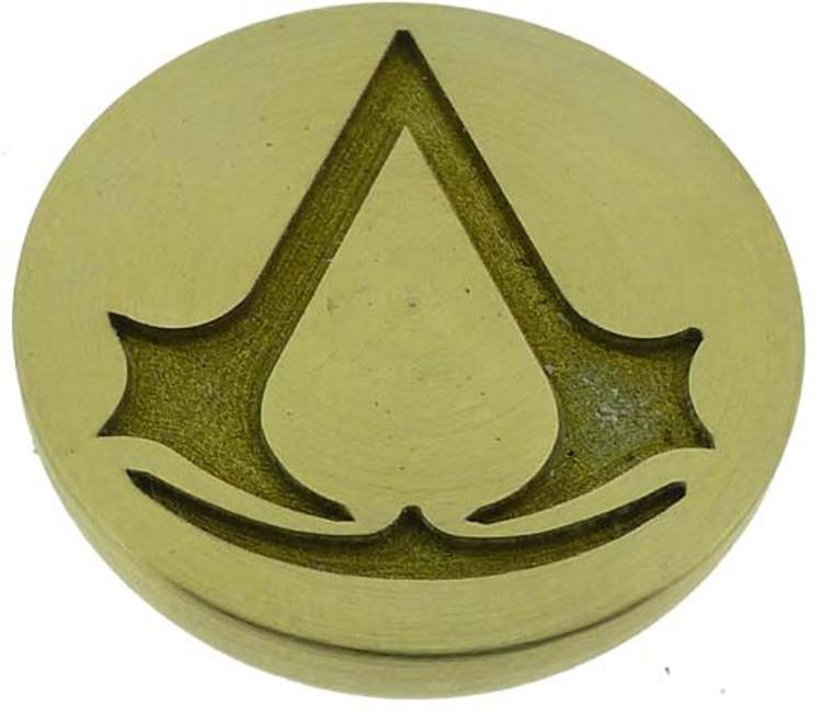 Assassins Creed engraved wax seal design