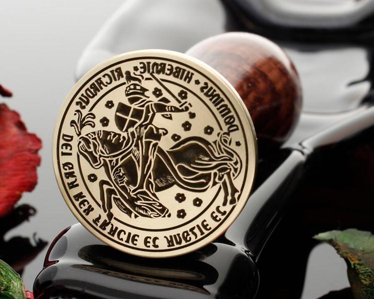 Great Seal of Richard III Laser Engraved Wax Seal