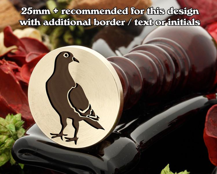 Pigeon Wax Seal Stamp