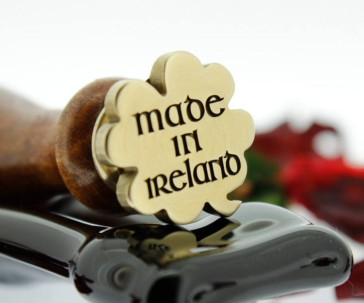 Engraved Clover Wax Seal Stamp - Made in Ireland