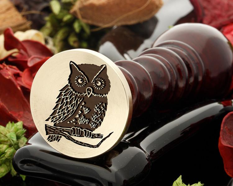 Owl 7 wax seal
